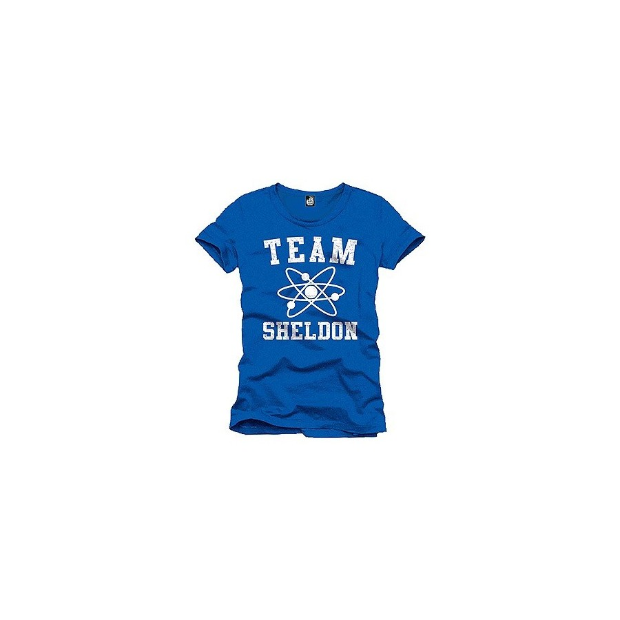 T-Shirt - The Bing Bang Theory - Team Sheldon - The Gamebusters
