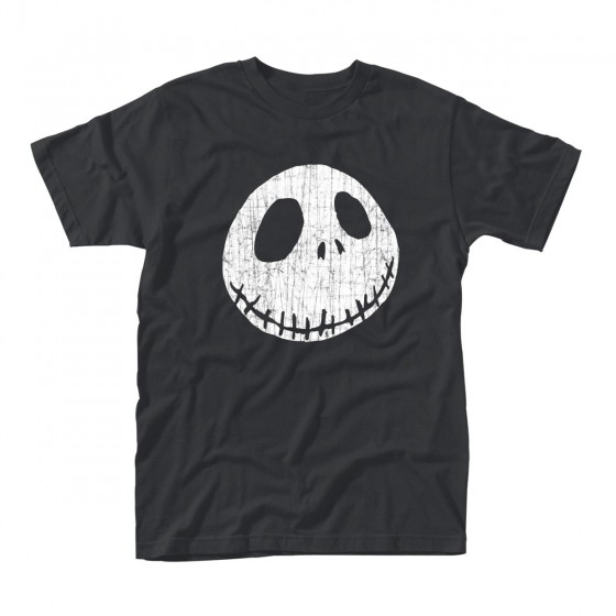 T-Shirt - Cracked Face - The Nightmare Before Christmas