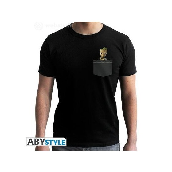 T-Shirt - Pocket Groot - Guardians of the Galaxy 2 - The Gamebusters