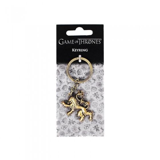Portachiavi in metallo - Lannister - Game of Thrones