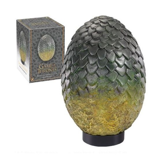 Game of Thrones Dragon Egg Prop Replica Rhaegal 20 cm