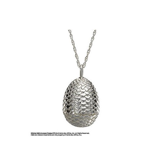 Collana & Pendente - Uovo di Drago (Sterling Silver) - Game of Thrones