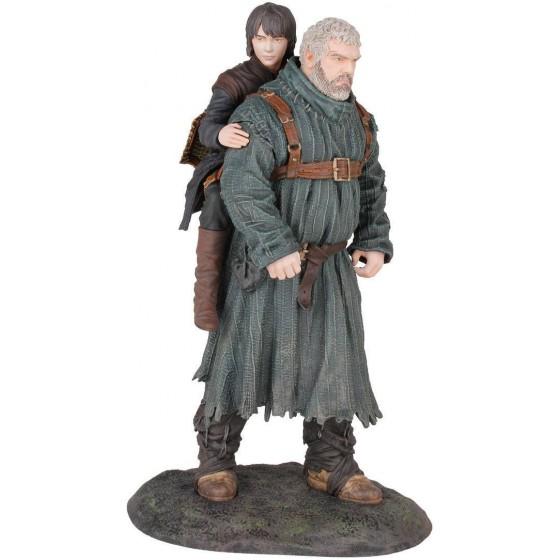 Action Figure - Hodor & Bran - Game of Thrones