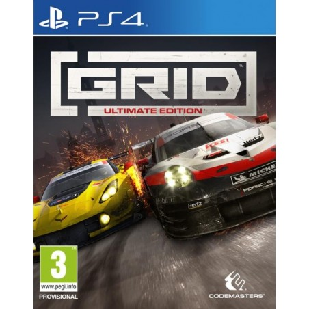 Grid Ultimate Edition - Preorder PS4 - The Gamebusters