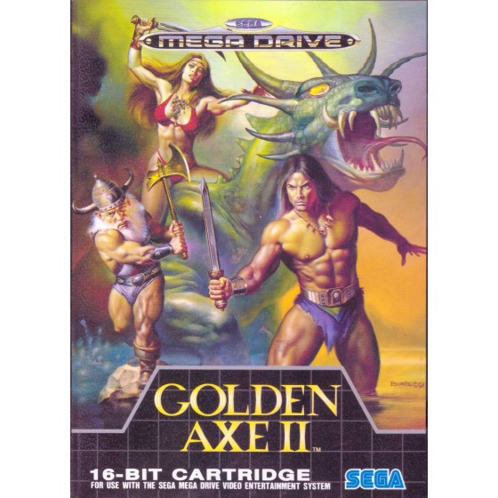 Golden Axe II - Mega Drive