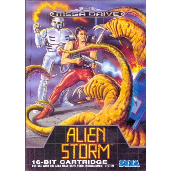 Alien Storm - Mega Drive