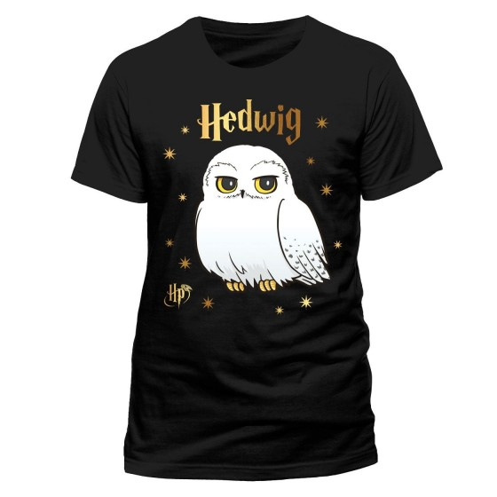T-Shirt - Hedwig Stars - Harry Potter