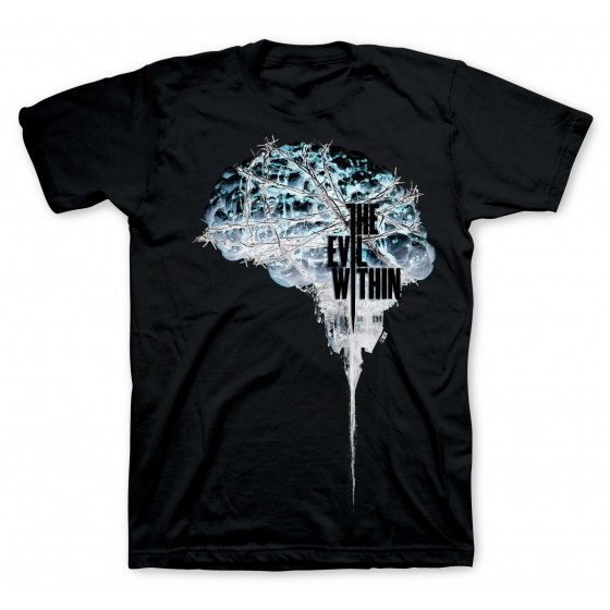 T-Shirt - Brain Negative - The Evil Within