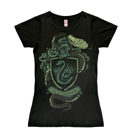 T-Shirt donna - Slytherin - Harry Potter
