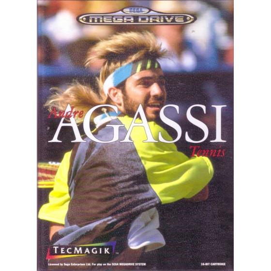 Andre Agassi Tennis - Mega Drive usato