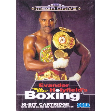 Evander Holyfield's Boxing - Mega Drive usato