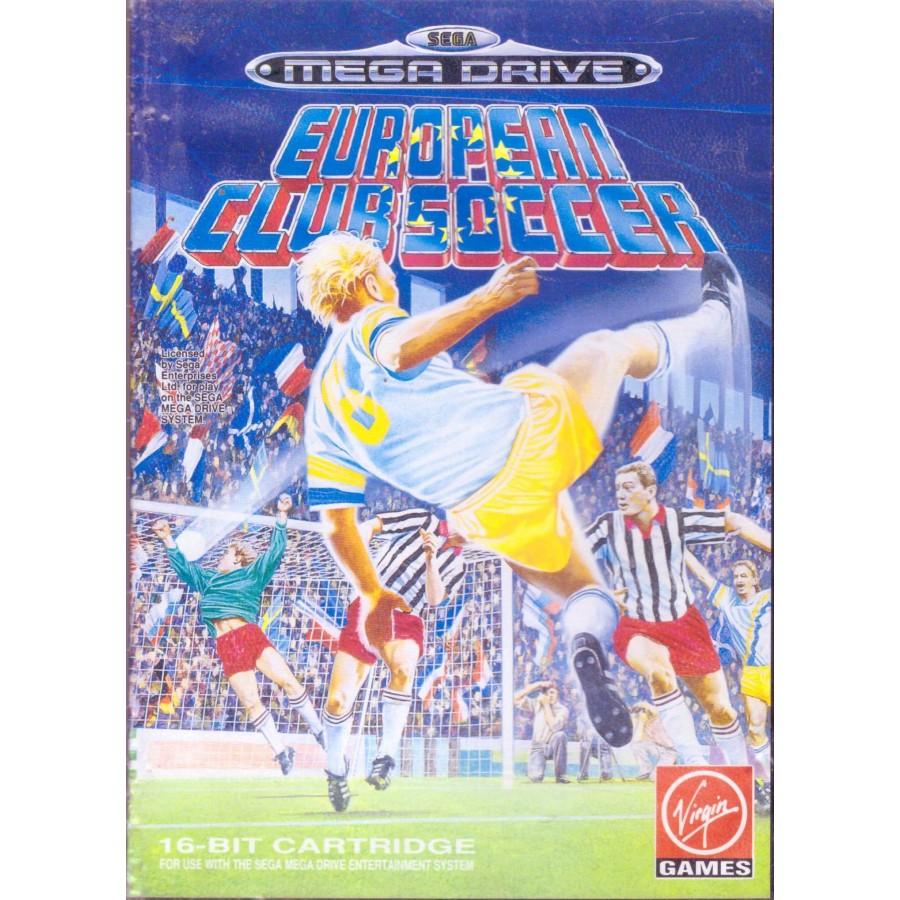 European Club Soccer - Mega Drive