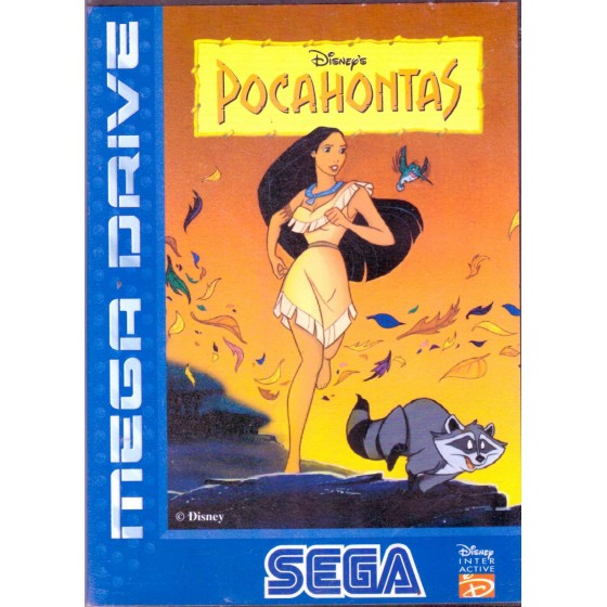 Pocahontas - Mega Drive