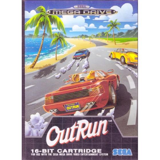 Outrun - Mega Drive usato