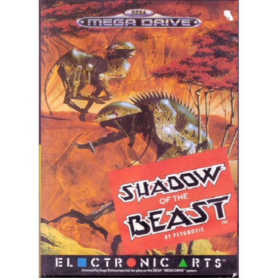 Shadow of the Beast - Mega Drive