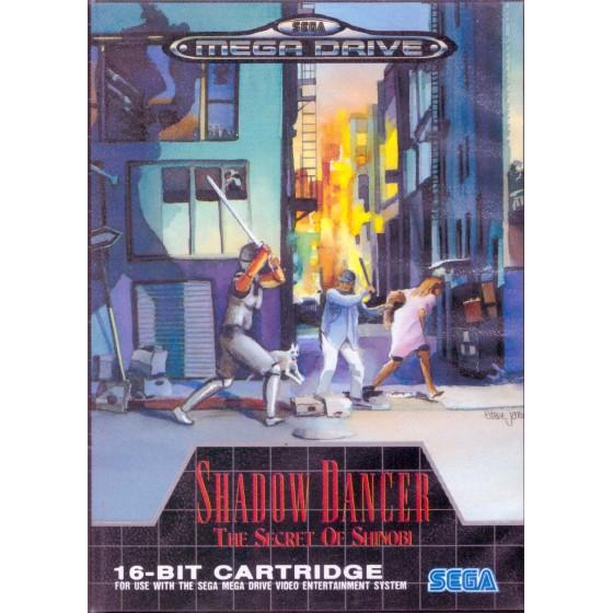Shadow Dancer The Secret of Shinobi - Mega Drive