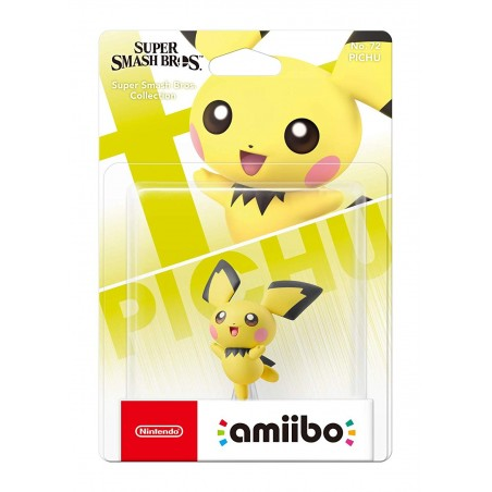Nintendo Amiibo - Pichu - Super Smash Bros Ultimate