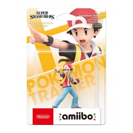 Nintendo Amiibo - Pokemon Trainer - Super Smash Bros Ultimate