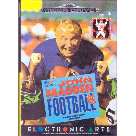 John Madden Football 93 - Mega Drive