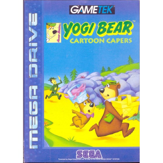 Yogi Bear Cartoon Capers - Mega Drive usato