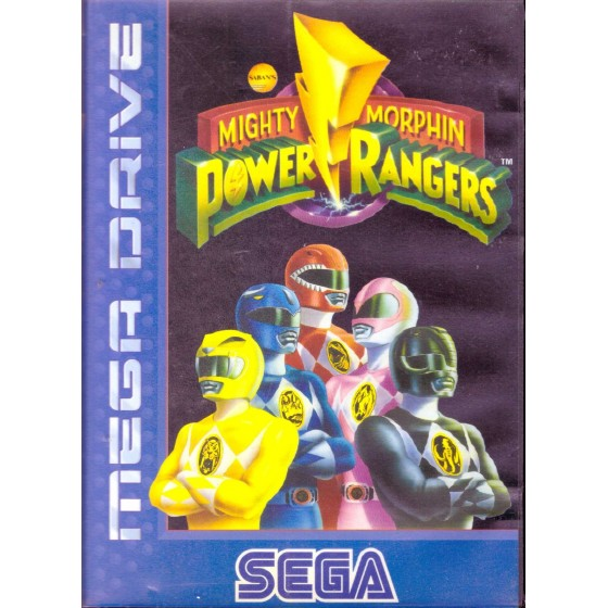 Mighty Morphin Power Rangers - Mega Drive usato