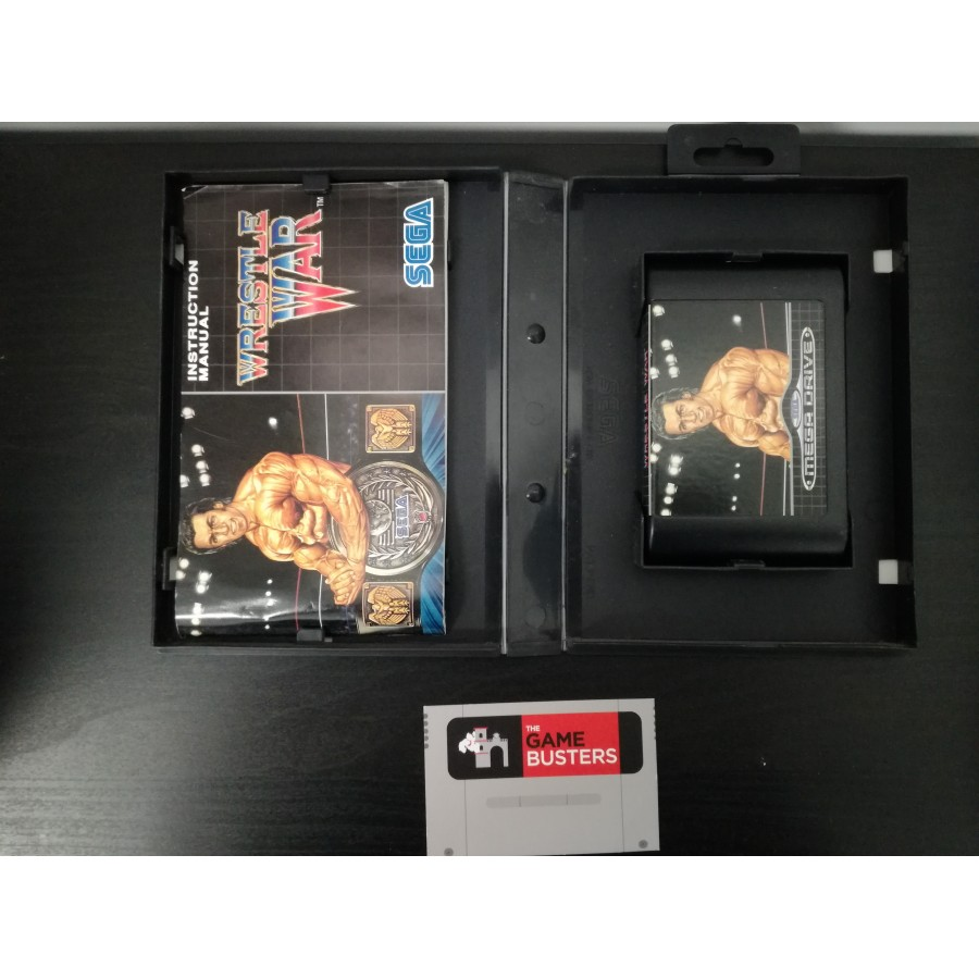 Wrestle War - Mega Drive