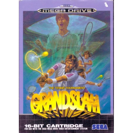 Grandslam The Tennis Tournament - Mega Drive