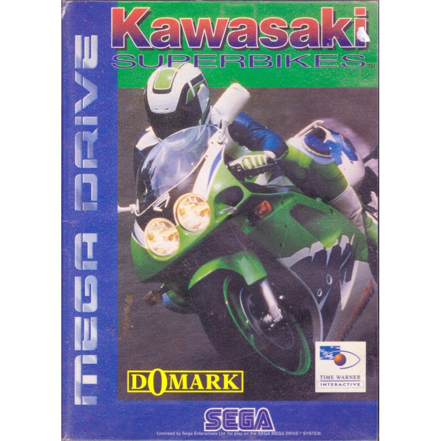 Kawasaki Superbikes - Mega Drive