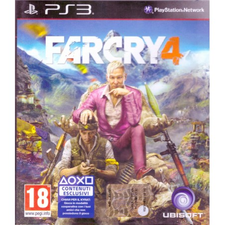 Far Cry 4 - PS3 usato