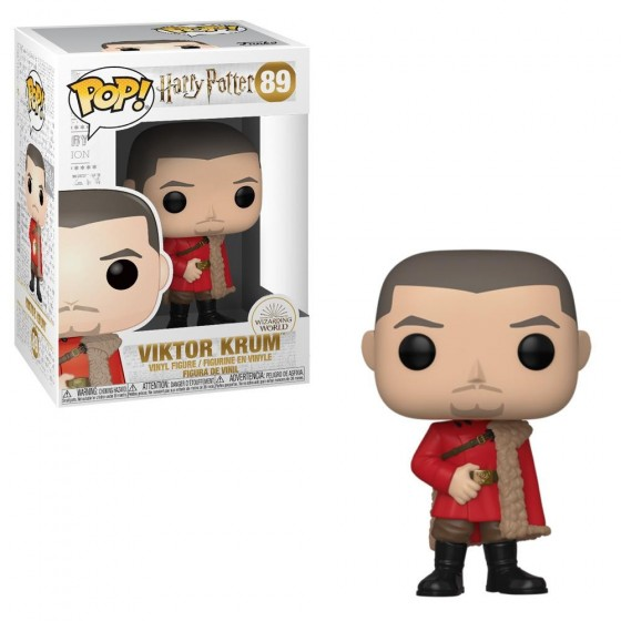 Funko Pop! - Viktor Krum Ballo Del Ceppo (89) - Harry Potter