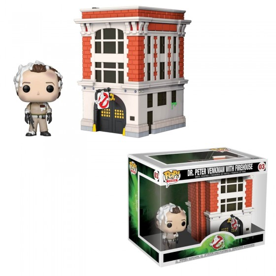 Funko Pop! - Peter Venkman with Firehouse (03) - Ghostbusters