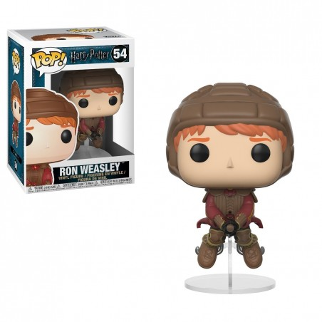 Funko Pop! - Ron Weasley Quidditch (54) - Harry Potter