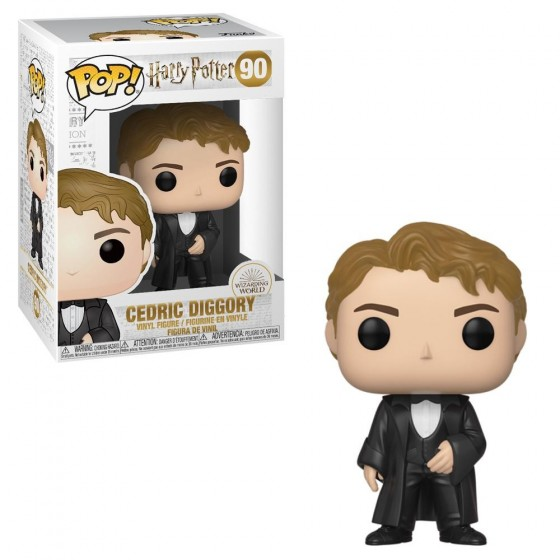 Funko Pop! - Cedric Diggory - Ballo Del Ceppo (90) - Harry Potter