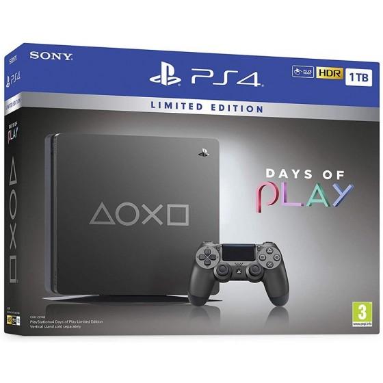 Playstation 4 Slim 1TB - Days Of Play Limited Edition