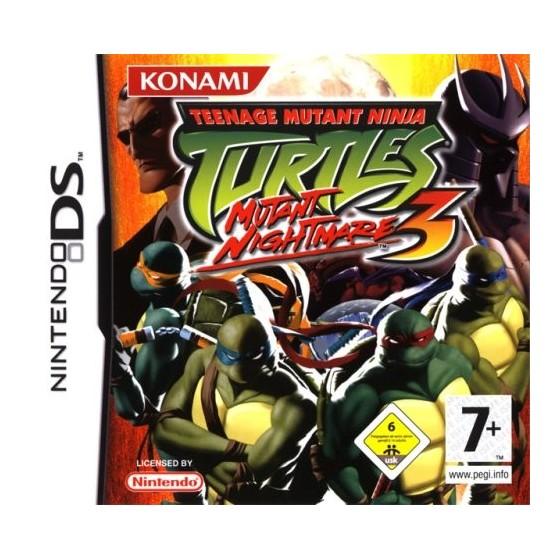 Teenage Mutant Ninja Turtles 3 Mutant Nightmare - DS