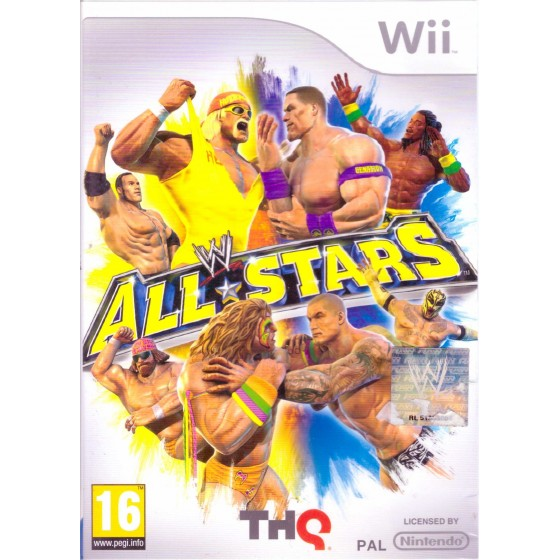 WWE All Stars - Wii usato