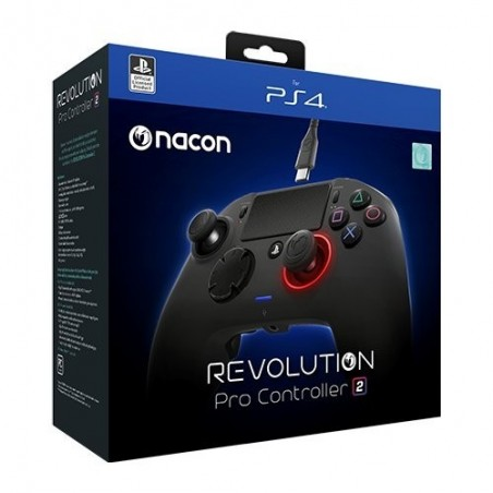 Nacon Revolution Pro Controller V2 Wired - PS4