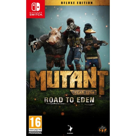 Mutant Year Zero: Road to Eden - Deluxe Edition - Switch - The Gamebusters