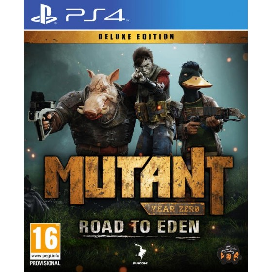 Mutant Year Zero: Road to Eden - Deluxe Edition - PS4 - The Gamebusters