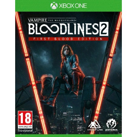 Vampire: The Masquerade - Bloodlines 2- Preorder Xbox One - The Gamebusters