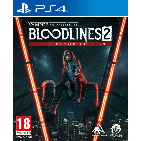 Vampire: The Masquerade - Bloodlines 2- Preorder PS4 - The Gamebusters