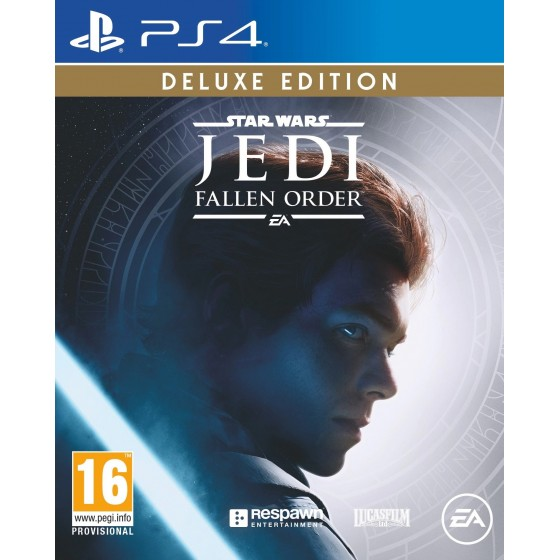 Star Wars Jedi Fallen Order - Deluxe Edition - PS4