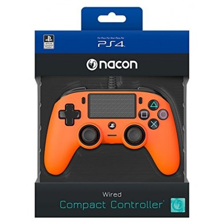 Controller Nacon Compact - Arancione - PS4