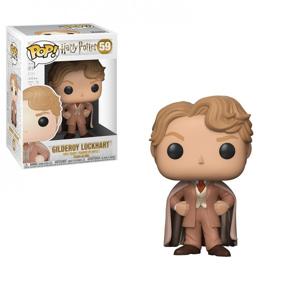 Funko Pop! - Gilderoy Lockhart (59) - Harry Potter