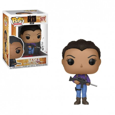 Funko Pop! - Sasha (377) - The Walking Dead