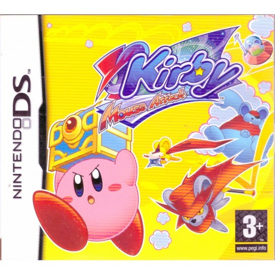 Kirby Mouse Attack - DS