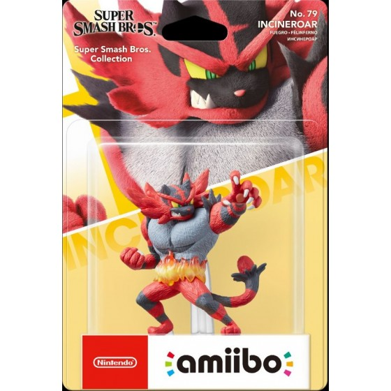 Nintendo Amiibo - Incineroar - Super Smash Bros Ultimate - Preorder