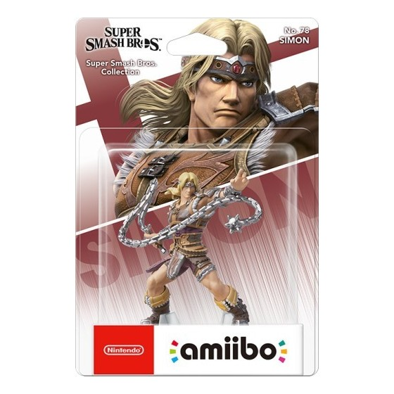 Nintendo Amiibo - Simon - Super Smash Bros Ultimate - Preorder