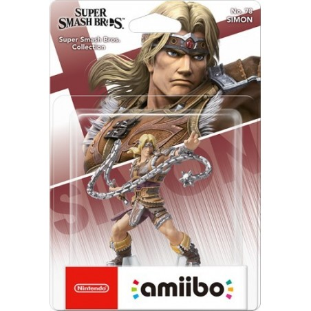 Nintendo Amiibo - Simon - Super Smash Bros Ultimate