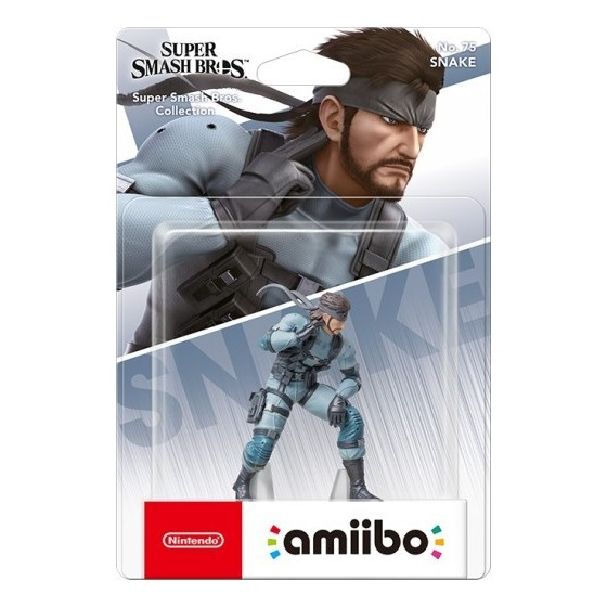 Nintendo Amiibo - Snake - Super Smash Bros Ultimate - Preorder